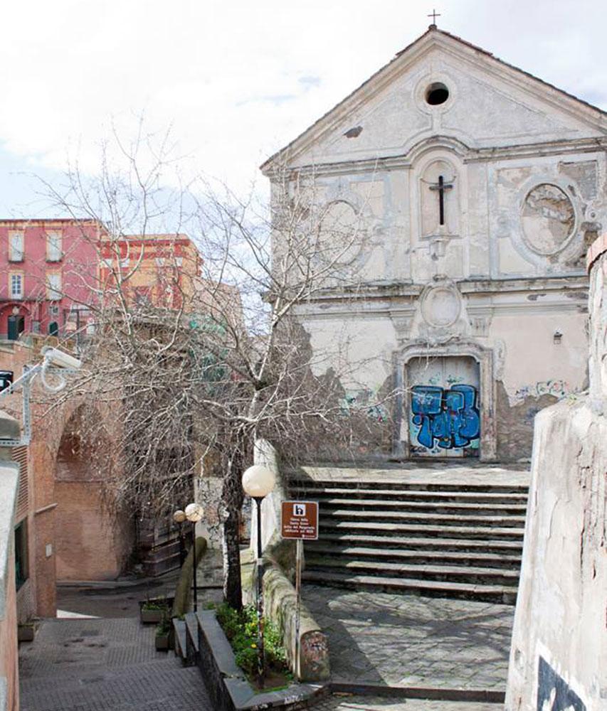 Una delle ipotesi in campo per la realizzazione di uno spazio da adibire a teatro stabile e laboratorio di formazione professionale, è l'ex Chiesa del Purgatorio, oggi sconsacrata.
