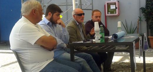 """Un momento della conferenza stampa sul """"Festival dello sport"""" a Pozzuoli"""
