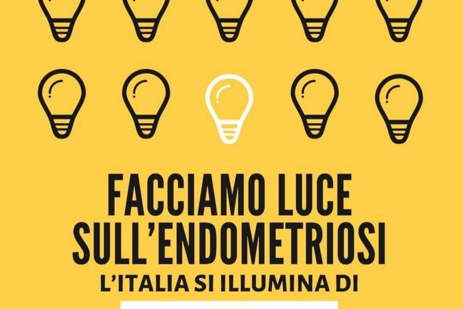"""""""Facciamo luce sull'endometriosi – Bacoli e Pozzuoli si illumina di giallo"""""""